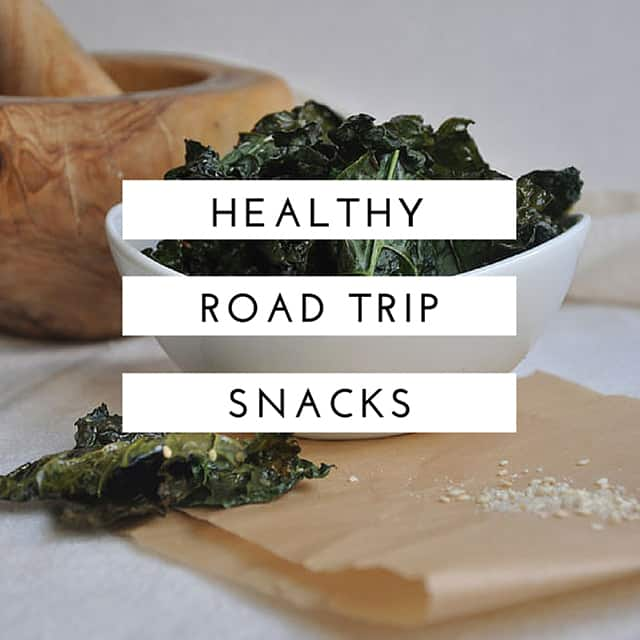 Healthy Roadtrip Snacks