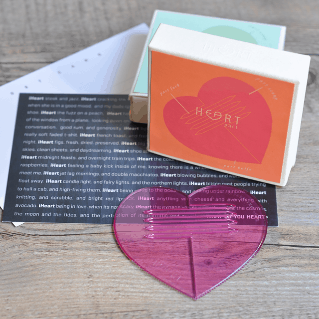 heart Parts Tell Us What You Heart and Win a Set of Heart Shaped Utensils from iHeart This [Giveaway]