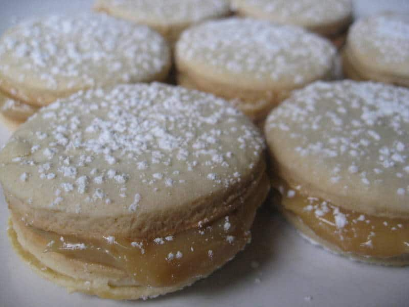 Alfajores: Dulce De Leche Sandwich Cookies - Turntable Kitchen