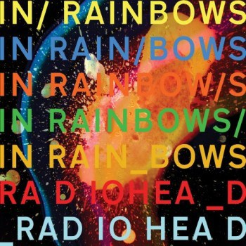 in rainbows 3 350x350 Musical Pairings: Radiohead   In Rainbows (paired w/ poached halibut with saffron leek sauce