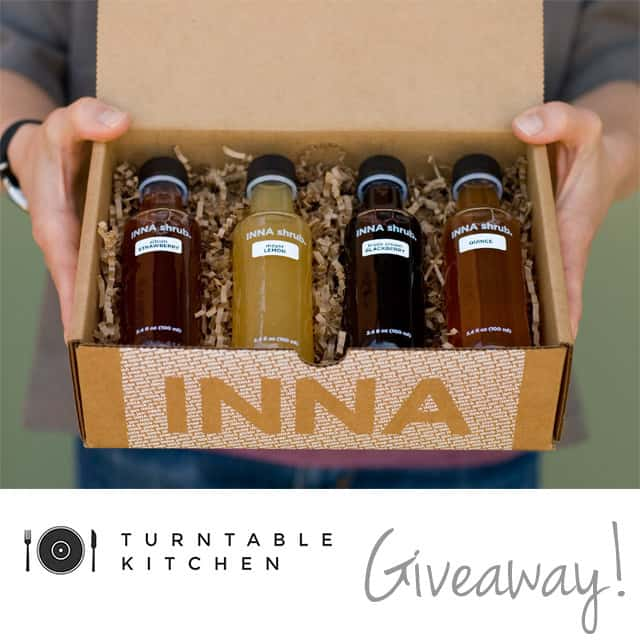 Giveaway: Mini Shrub Gift Set from Inna Jam