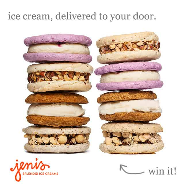 Giveaway: Ice Cream Sandwich Delivery from Jeni's Splendid Ice Creams