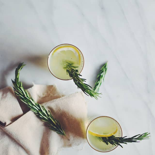 Rosemary Vanilla Bean Lemonade