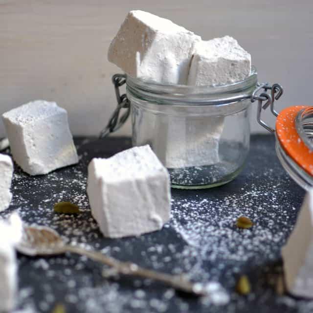 Double Vanilla and Cardamom Marshmallows - Turntable Kitchen