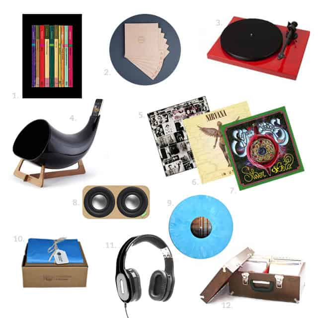 turnable kitchens holiday gift guide music and vinyl records - Turntable Kitchen