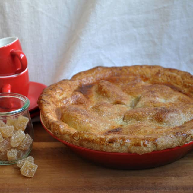 pear gingerpie Pear Pie with Maple and Ginger: Traditions Old and New