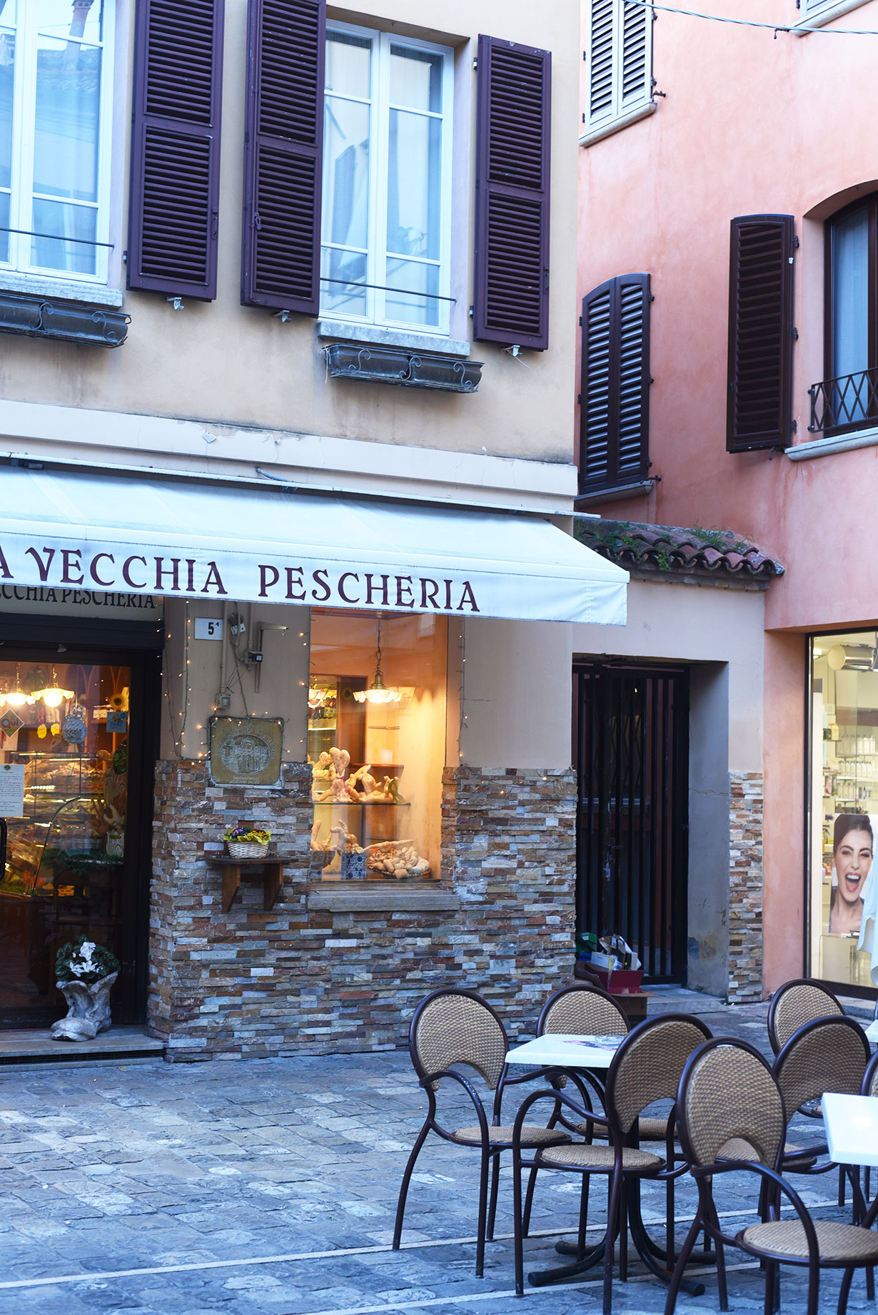 Pescheria in Rimini, Italy