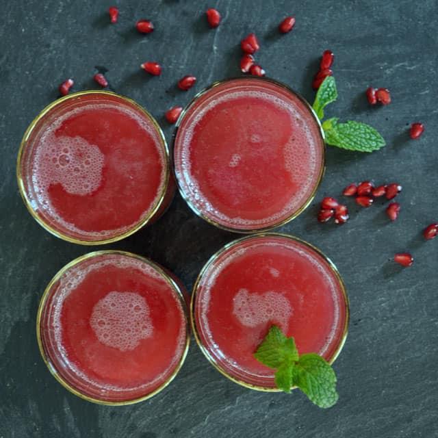 Pomegrante-Mint Spritzer