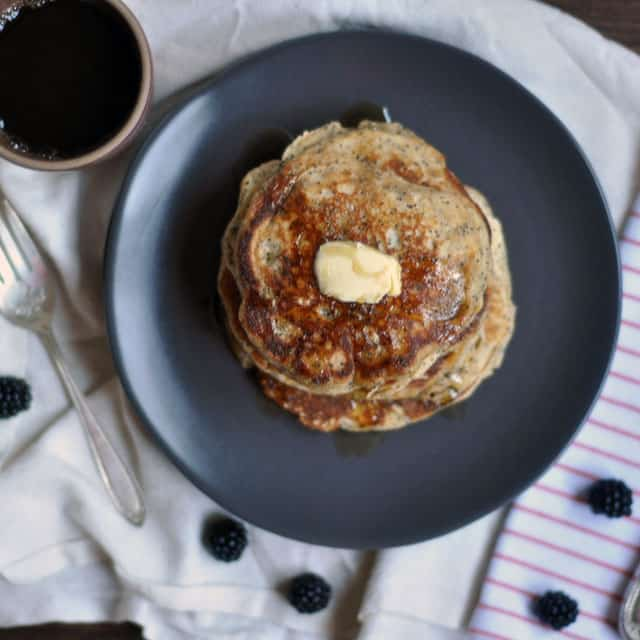 poppyseed pancakes top Whole Wheat Almond Poppy Seed Pancakes: Make Plans