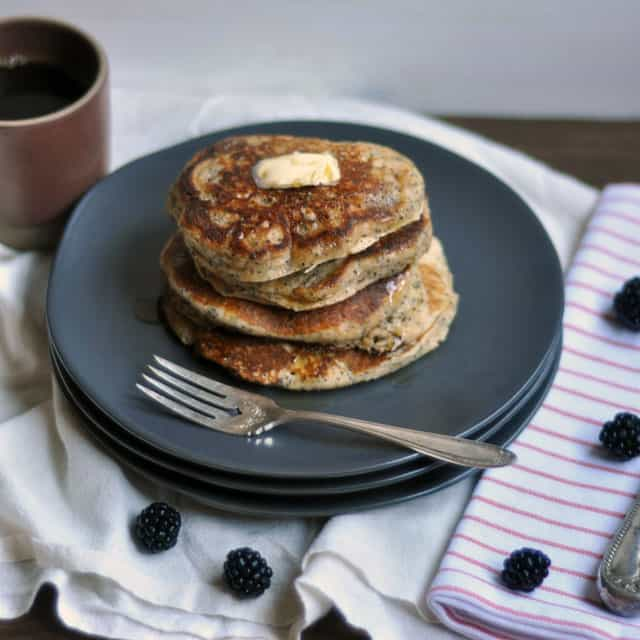 poppyseedpancakes3 Whole Wheat Almond Poppy Seed Pancakes: Make Plans
