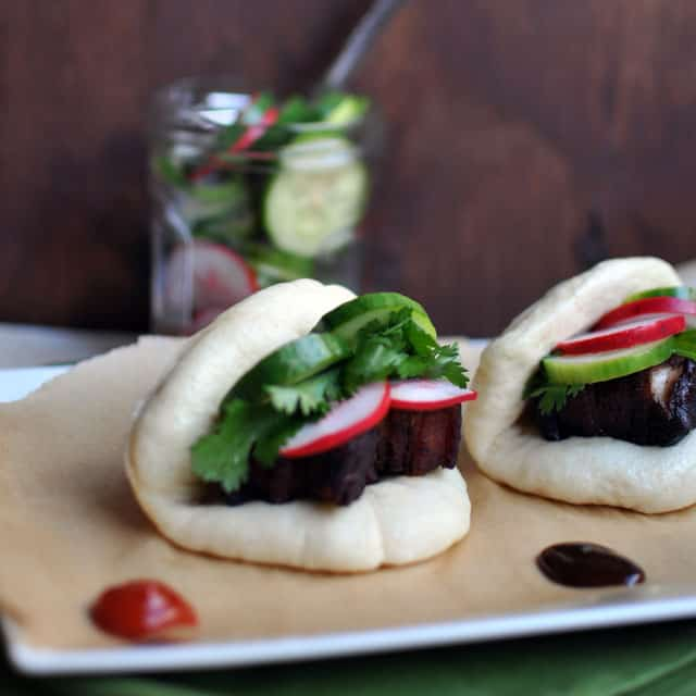 Caramelized Pork Belly Buns