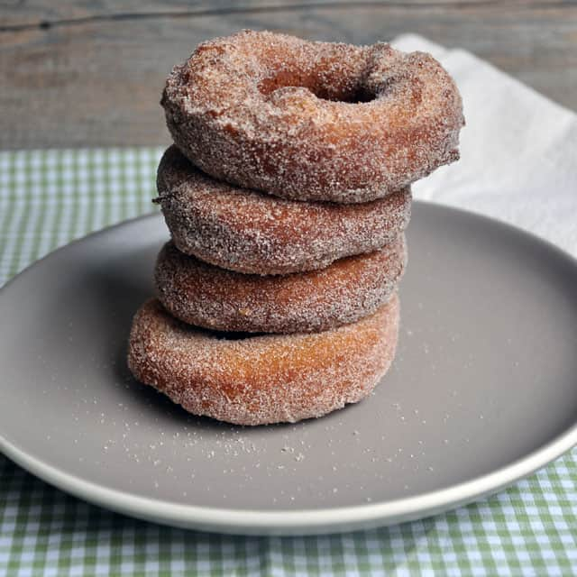 pumpkin donuts checkered Multi Grain Pumpkin Donuts with Spiced Sugar: Freedom