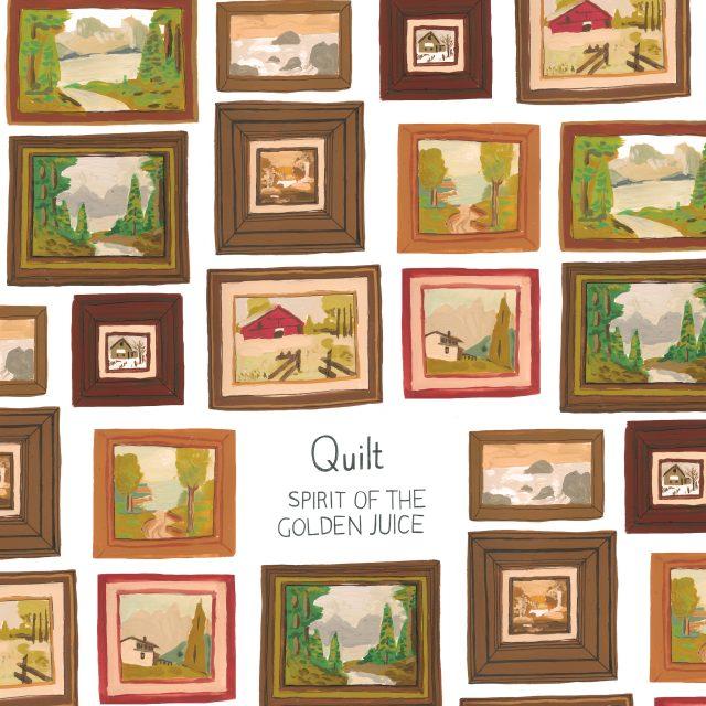 Quilt – Spirit of the Golden Juice FJ McMahon Cover