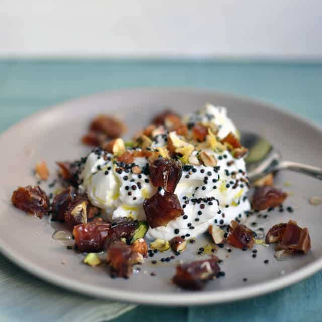 Yogurt with Toasted Quinoa, Dates, and Nuts: Countdown ...