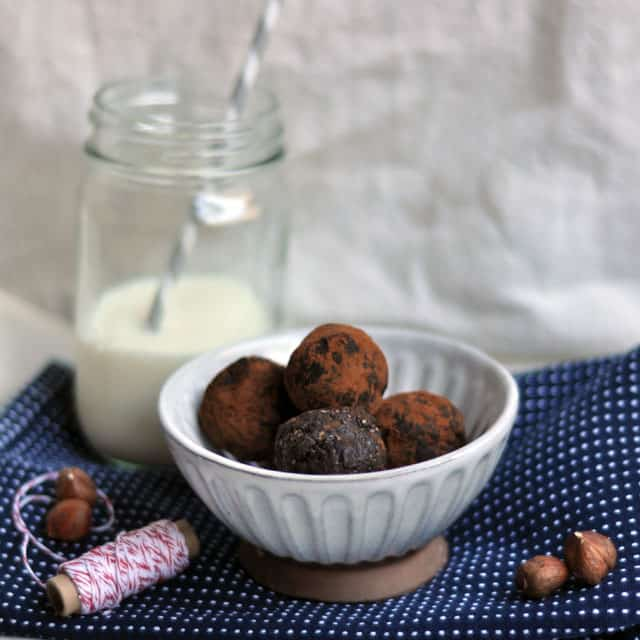 raw truffles Simple Vegan Chipotle Chocolate Truffles and Only Children: Different but the Same