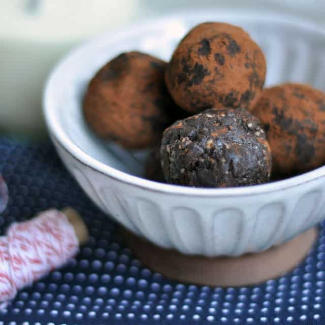Simple Vegan Chipotle-Chocolate Truffles and Only Children: Different ...
