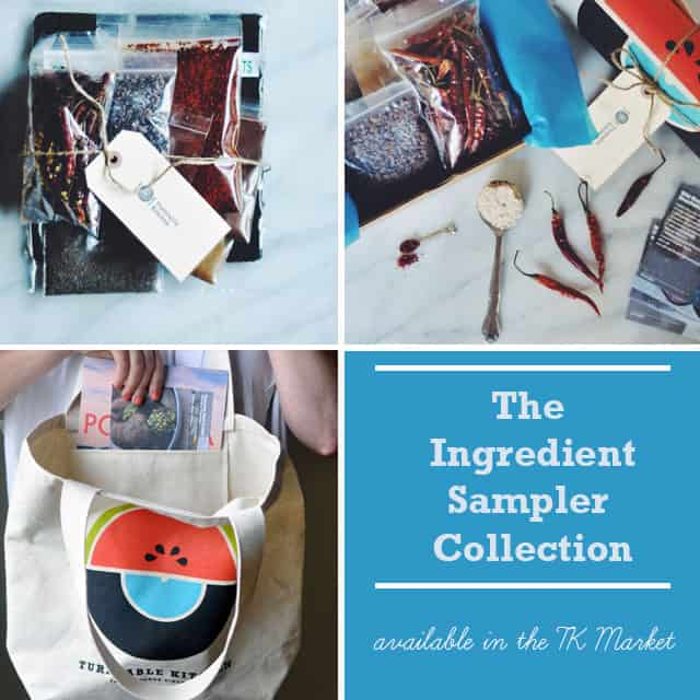 THE TURNTABLE KITCHEN INGREDIENT SAMPLER COLLECTION