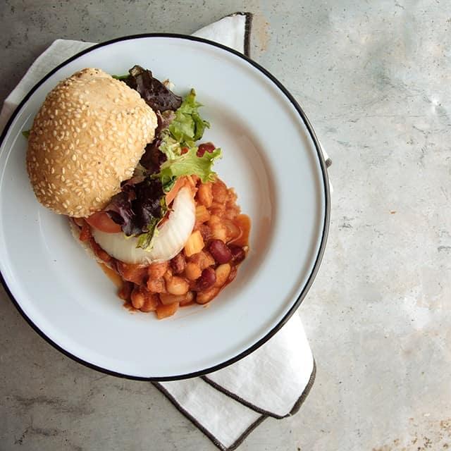 Three Bean Sloppy Joe - Turntable Kitchen