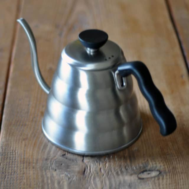 How To Make Coffee: Using A Swan-Neck Kettle