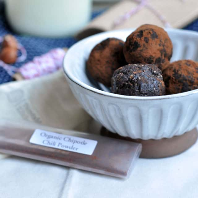 Simple Vegan Chipotle-Chocolate Truffles and Only Children ...