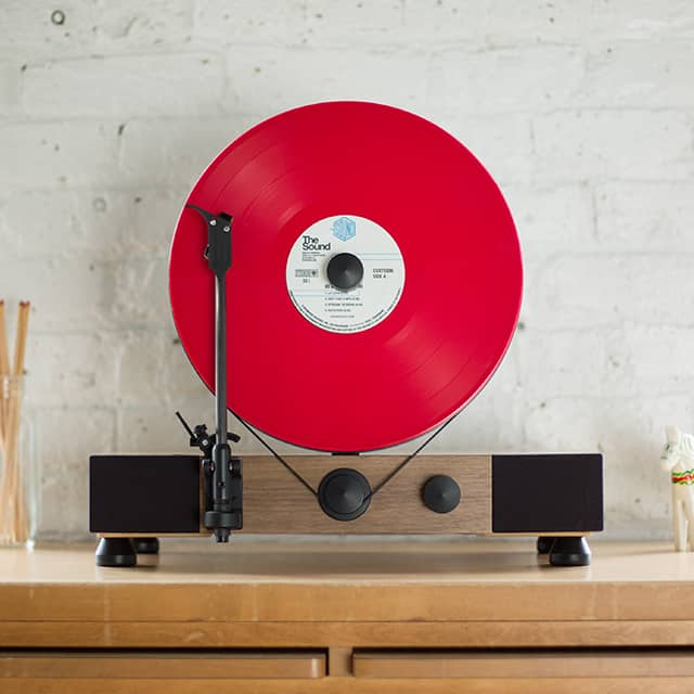 Giveaway: A Floating Record™ Vertical Turntable from Gramovox