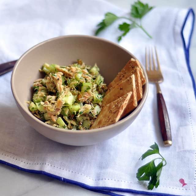 Smoked Tuna Salad