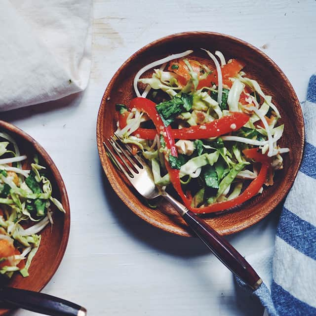 Raw Thai Citrus Crunch Salad