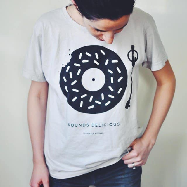 'Sounds Delicious' Pink Donut Tee