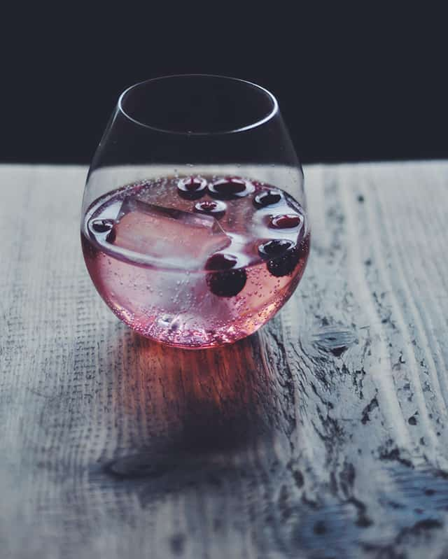 Sparkling Cranberry Shrub