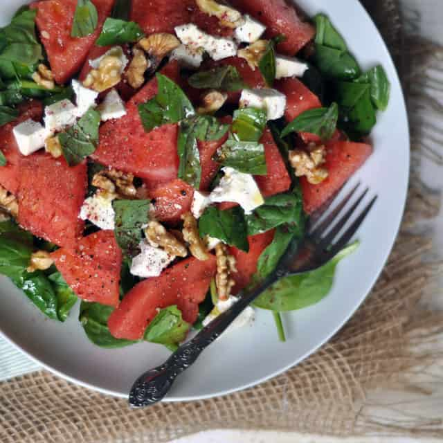 These Are the Summers: Watermelon, Ricotta Salata and ...